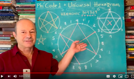 HARMONIC 369369: Unicursal Hexagram and Phi – Jain 108 Discovery