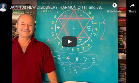 HARMONIC 111 and 888 and the BINARY CODE in the CIRCULARIZED PHI CODE 108